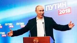 Putin sichert sich vierte Amtszeit