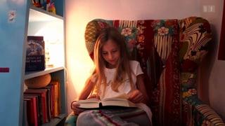 Junge Bücherwürmer trainieren ihr Hirn fürs Alter