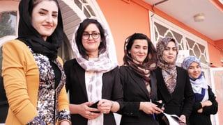 Zan TV – ein Novum für Afghanistan: Die Fernsehstation wird komplett von Frauen geführt.
