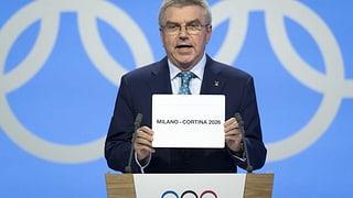 Winterspiele 2026 gehen an Mailand/Cortina