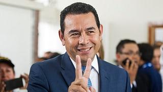 Komiker Morales gewinnt erste Runde der Wahlen in Guatemala