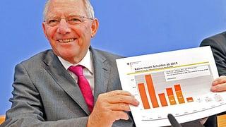 Deutschland ab 2015 ohne neue Schulden