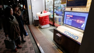 Nordosten Japans erneut von schwerem Beben erschüttert