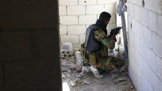 Syriens Rebellen droht der Untergang