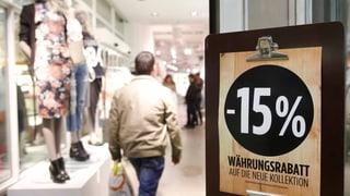 Starker Franken belastet Detailhändler weiter