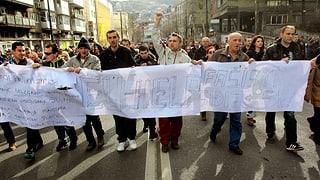 Video «Massendemonstrationen in der Ukraine» abspielen