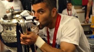 So «posen» frischgebackene #Cupsieger