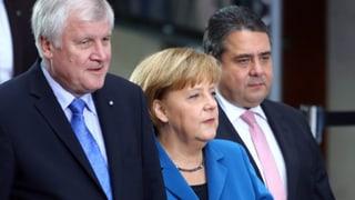 Parteichefs unterschreiben schwarz-roten Koalitionsvertrag