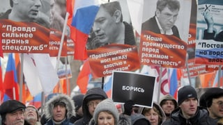 Russlands Regierungskritiker auf der Strasse