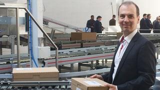 Bald drei Millionen Pakete jährlich aus Willisau