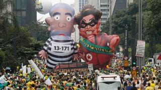 «Historische» Protestwelle schwappt über Brasilien