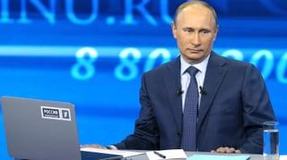 Putin verspottet Kritiker in TV-Show