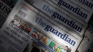 Datenzerstörung beim «Guardian»: Cameron zog die Fäden