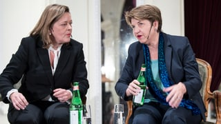 PCD nominescha duo feminin: Amherd – Z'graggen