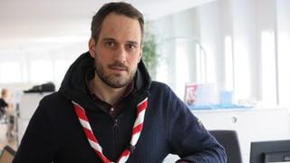 «Bewusst handeln»: Adrian Elsener führt neu die Schweizer Pfadi (Artikel enthält Audio)