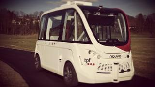 Nun hat auch Freiburg einen selbstfahrenden Bus