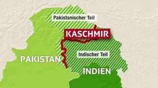 Indische Bomben auf pakistanisch kontrolliertes Gebiet?