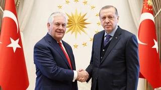 US-Aussenminister beim «Schlüsselstaat» Türkei: Wichtig für den Kampf gegen den IS. Was aber ist mit den Kurden?