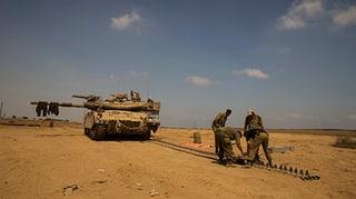Israelische Armee sucht nach vermisstem Soldaten