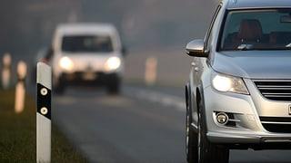 Licht an beim Autofahren: Polizei in Region ist kulant