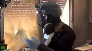 Syrien zerstört Chemiewaffen-Anlagen