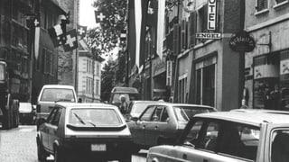 Ähnliche Situation, andere Wirkung: Die Umfahrungsstrasse hat Bremgartens Altstadt aufleben lassen.