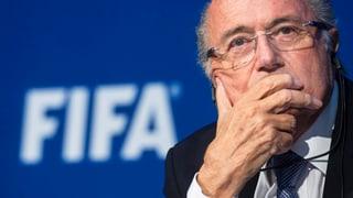 Zu viel Stress: Joseph Blatter angeschlagen