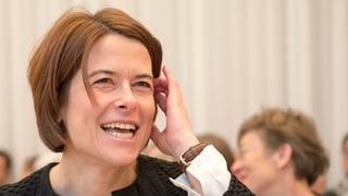 Gössis Quasi-Heimspiel bei den FDP Frauen