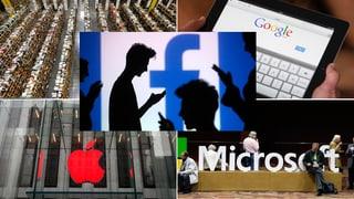 Den «Internet Big Five» gehört die digitale Welt