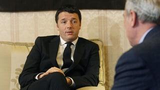 Matteo Renzi soll Italiens neue Regierung bilden