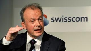 Swisscom-Chef: «Geschäfte laufen sehr erfreulich»