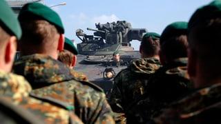 Nato stockt schnelle Eingreiftruppe auf 40'000 Mann auf