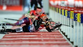 So lief der Biathlon-Sprint der Frauen