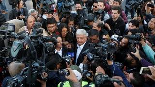 Mexiko hat einen neuen Präsidenten: Linksnationalist López Obrador. Amtsinhaber Enrique Peña Nieto gratulierte ihm.
