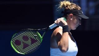 Per Belinda Bencic è l'Australian Open a fin