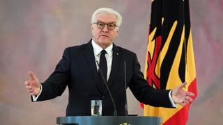 Steinmeier giavischa discurs e betg elecziuns novas