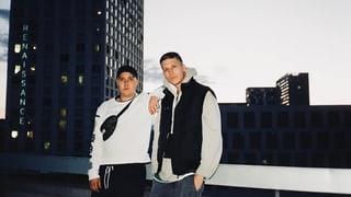 Rapper Luuk & Produzent DavïdM sind das schönste Paar im CH-Rap
