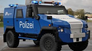 Basler Polizei will Panzerfahrzeug