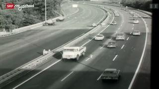 Video «Zeitreise: Autobahneuphorie (25/31)» abspielen
