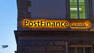 IT-Probleme bei der Postfinance