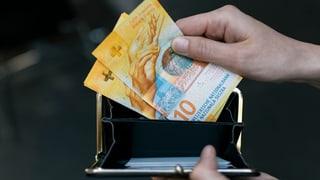 Angestellte erhalten 2019 Teuerungsausgleich