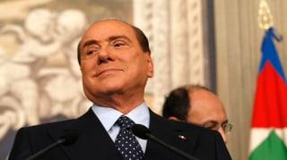 Demo statt Gericht: Berlusconi legt noch einen drauf