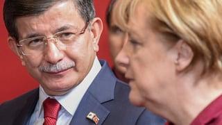 Davutoglu besucht Merkel: «Wir verlangen Solidarität»