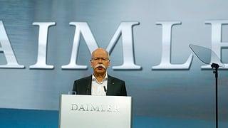 Hausdurchsuchungen bei Daimler