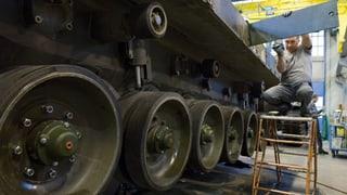 Lockerung der Waffenexporte: Industrie erfreut über Vorstoss