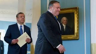 USA kündigen «stärkste Sanktionen» gegen den Iran an