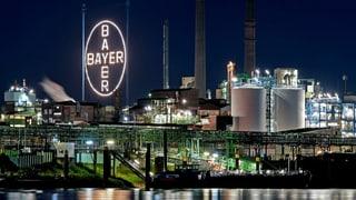 Bayer baut 12'000 Stellen ab