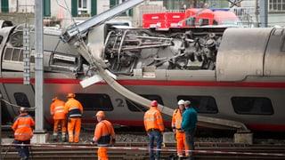 «Der Abtransport verzögert sich, das Gleisbett ist beschädigt»