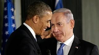 Obama beschwört in Israel «Bündnis für die Ewigkeit»
