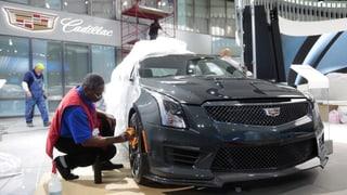 Trumps Drohungen überschatten Autoshow in Detroit